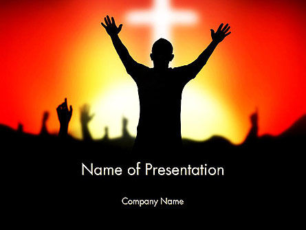 Christian Counseling Powerpoint Template Backgrounds