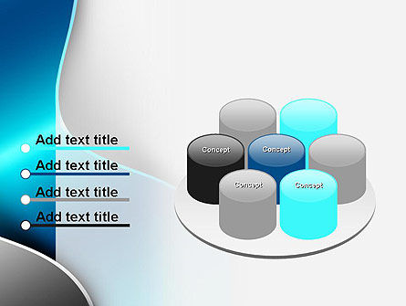 Metal Waves PowerPoint Template Slide 12