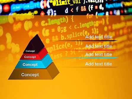 Programming Code PowerPoint Template, Slide 4, 14009, Technology and Science — PoweredTemplate.com