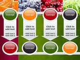 Collage with Different Fruits PowerPoint Template#18