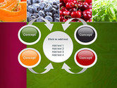 Collage with Different Fruits PowerPoint Template#6