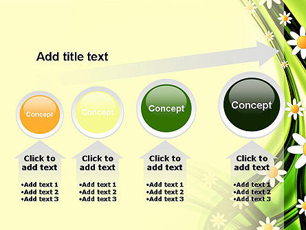Chamomile Stream PowerPoint Template Slide 13