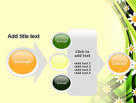 Chamomile Stream PowerPoint Template Slide 17