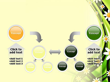 Chamomile Stream PowerPoint Template Slide 19