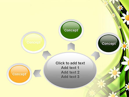 Chamomile Stream PowerPoint Template Slide 7