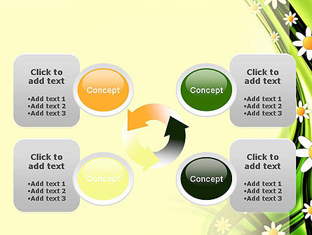 Chamomile Stream PowerPoint Template Slide 9
