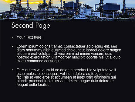 Industry Landscape PowerPoint Template, Slide 2, 14014, Utilities/Industrial — PoweredTemplate.com