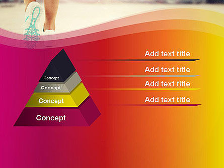 Legs Of Jogging Woman PowerPoint Template Slide 12