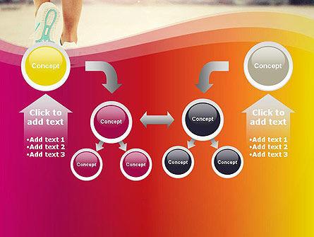 Legs Of Jogging Woman PowerPoint Template Slide 19