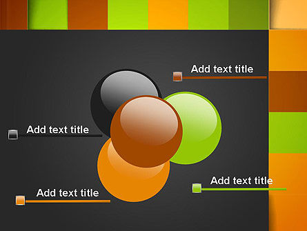 Colored Checkered Pattern PowerPoint Template Slide 10