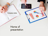 Business: Corporate Analysis PowerPoint Template #14020