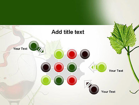 Red Wine Glass PowerPoint Template Slide 10