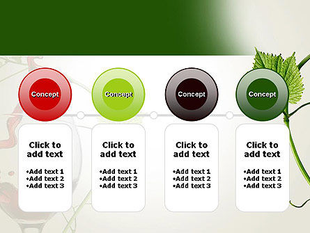 Red Wine Glass PowerPoint Template Slide 5