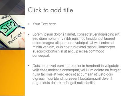 SEO Agency PowerPoint Template, Slide 3, 14026, Consulting — PoweredTemplate.com