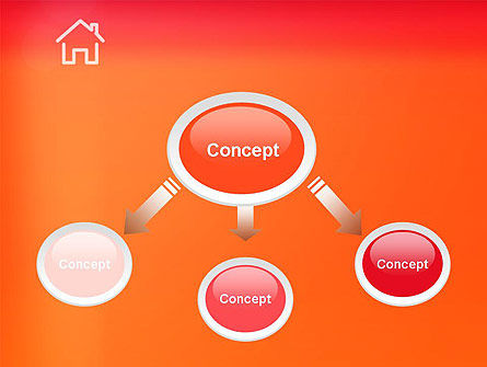 House Icon PowerPoint Template Slide 4