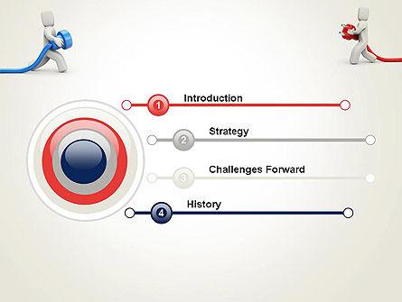 Connection Establishment PowerPoint Template, Slide 3, 14029, Business Concepts — PoweredTemplate.com