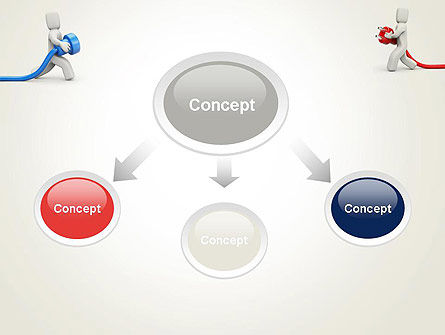 Connection Establishment PowerPoint Template, Slide 4, 14029, Business Concepts — PoweredTemplate.com