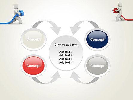 Connection Establishment PowerPoint Template Slide 6