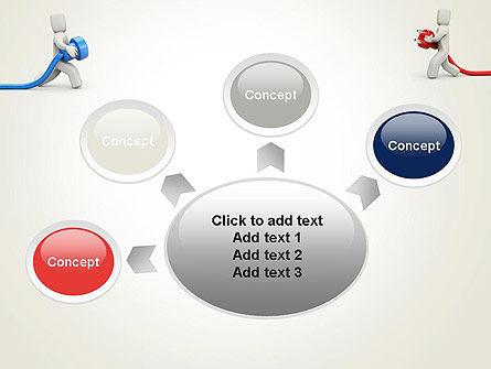 Connection Establishment PowerPoint Template Slide 7