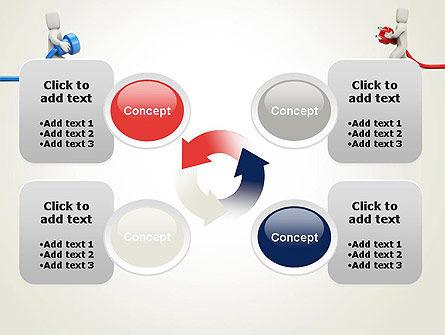 Connection Establishment PowerPoint Template Slide 9