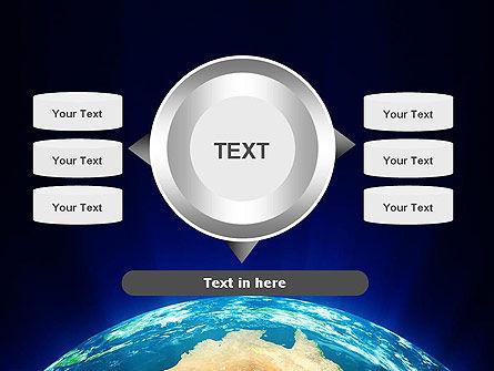 Australia on Earth PowerPoint Template Slide 12