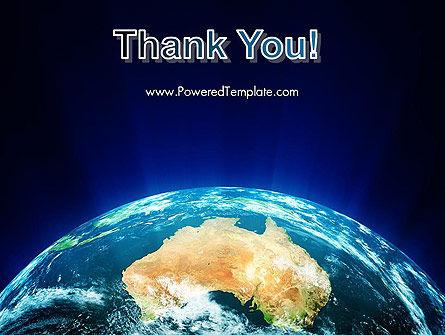 Australia on Earth PowerPoint Template Slide 20
