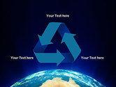 Australia on Earth PowerPoint Template#10