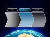 Australia on Earth PowerPoint Template#16