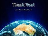 Australia on Earth PowerPoint Template#20