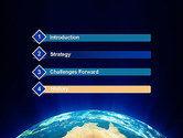 Australia on Earth PowerPoint Template#3