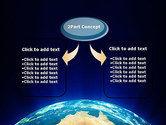 Australia on Earth PowerPoint Template#4