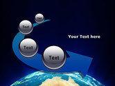 Australia on Earth PowerPoint Template#6