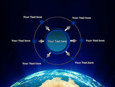 Australia on Earth PowerPoint Template#7