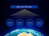 Australia on Earth PowerPoint Template#8