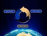 Australia on Earth PowerPoint Template#9