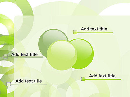 Light Green Circles PowerPoint Template Slide 10