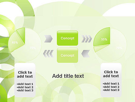 Light Green Circles PowerPoint Template Slide 11