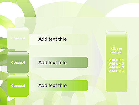 Light Green Circles PowerPoint Template Slide 12
