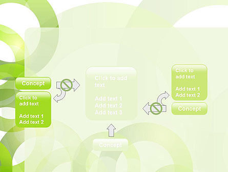 Light Green Circles PowerPoint Template Slide 13