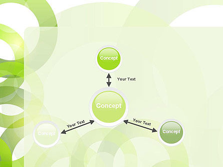 Light Green Circles PowerPoint Template Slide 14