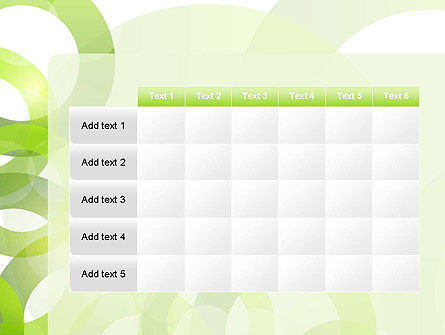 Light Green Circles PowerPoint Template Slide 15