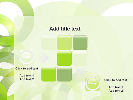 Light Green Circles PowerPoint Template Slide 16