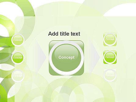 Light Green Circles PowerPoint Template Slide 17
