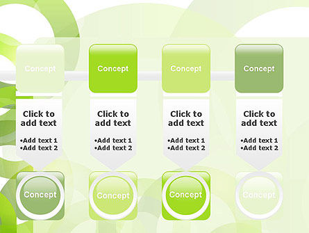 Light Green Circles PowerPoint Template Slide 18