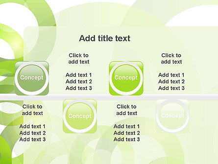 Light Green Circles PowerPoint Template Slide 19