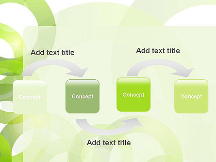 Light Green Circles PowerPoint Template Slide 4