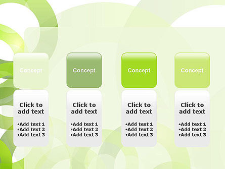 Light Green Circles PowerPoint Template Slide 5
