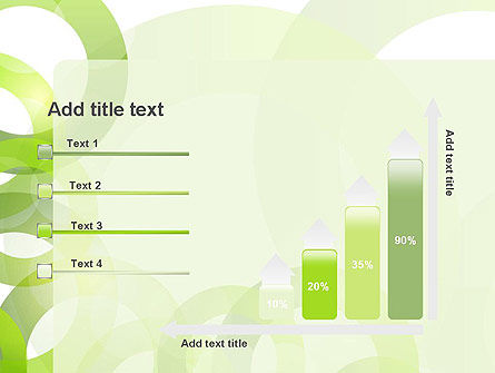 Light Green Circles PowerPoint Template Slide 8