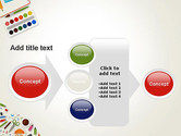Primary School Supplies PowerPoint Template#17