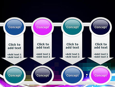 Waves and Gradient Abstract PowerPoint Template Slide 18